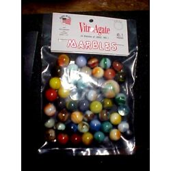 FACTORY BAG OF 45 +1 JABO CLASSIC  MARBLES  $9.99