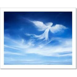 Angel In The Sky Art Print / Canvas Print. Poster, Wall Art, Home Decor - M
