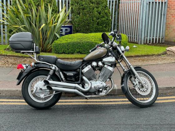2002 YAMAHA XV 535 VIRAGO CRUISER 1 OWNER FROM NEW PX WELCOME
