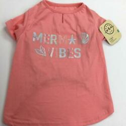 Mermaid Vibes Pink T-shirt for Dogs Size M, L by Bond & Co. NWT