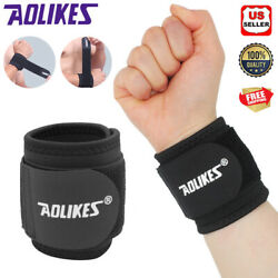 1x Wrist Band Support Bandage Brace Compression Carpal Tunnel Splint Pain Relief