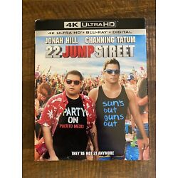 22 Jump Street (4K Ultra HD, 2014) Brand New with Slipcover