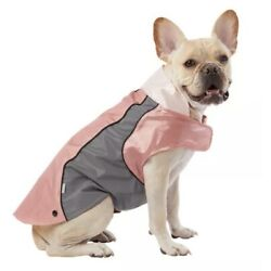 NWT Top Paw Dog XS (3-IN-1 Jacket) Pink Raincoat Retailed For $35