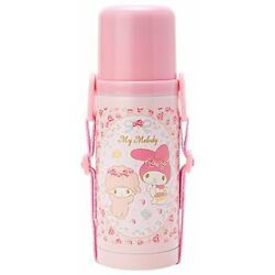 My Melody stainless bottle thermos water bottle S (Rose)