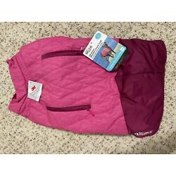 Outward Hound Silverton Weatherproof Thinsulate Coat for Dogs - PINK, LG,NEW