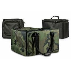 AutoExec AUE14019 File Tote Organizer Green Camouflage with one Cooler and on...