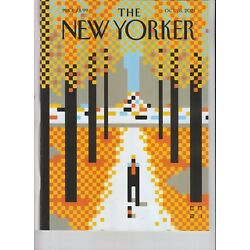 WALK IN THE PARK THE NEW YORKER MAGAZINE OCTOBER 18 2021 NO LABEL