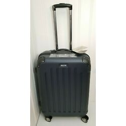 Kenneth Cole Reaction Renegade 24  ABS Expandable Hardside Luggage Navy Checked