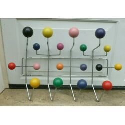 Large Wall Hanger Coat Rack Hang It All Candy chemistry molecules Wooden Balls
