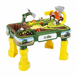 Theo Klein John Deere Farm 2 In 1 Sand and Water Kids' Children's Play Table