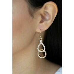 Paparazzi Earrings ~ Red Carpet Couture - Gold