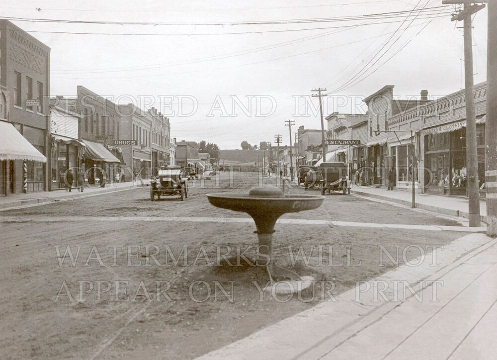1920 Granite Falls Minnesota Mn Main Street Photo Choices