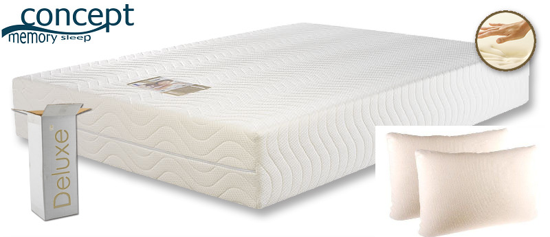 King Size Hq Memory Foam Combi Mattress Pillow Deal Ebay