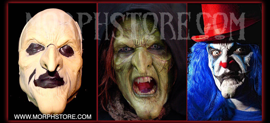 Halloween/Foam Latex/witch/clown/Face/Brows/Mask/lot.