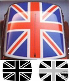 union jack roof kit for classic mini decals stickers. Black Bedroom Furniture Sets. Home Design Ideas