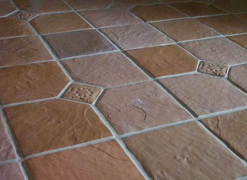 THREE 12x12 DOT CUT SLATE MOLDS CRAFT 100s OF CEMENT FLOOR ...