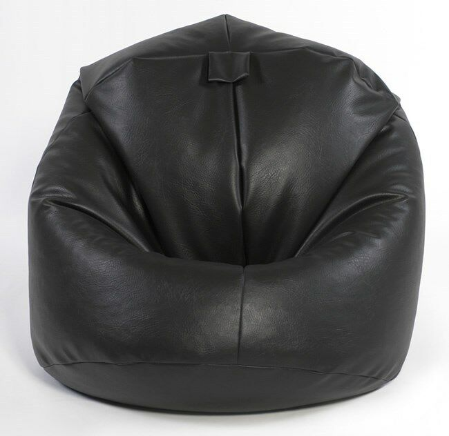 how to clean leather bean bag