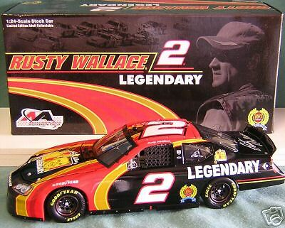 2006 rusty wallace 2 legendary dodge stock car ebay. Black Bedroom Furniture Sets. Home Design Ideas