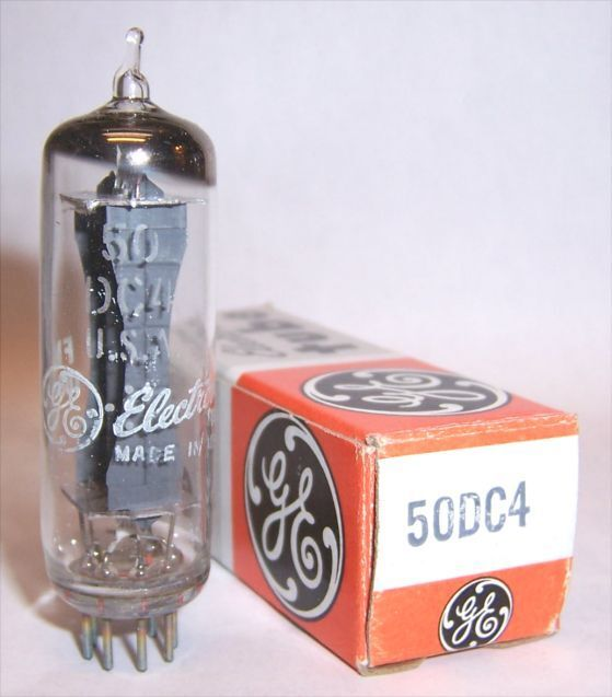 New In Box General Electric 50dc4 Radio Rectifier Tube