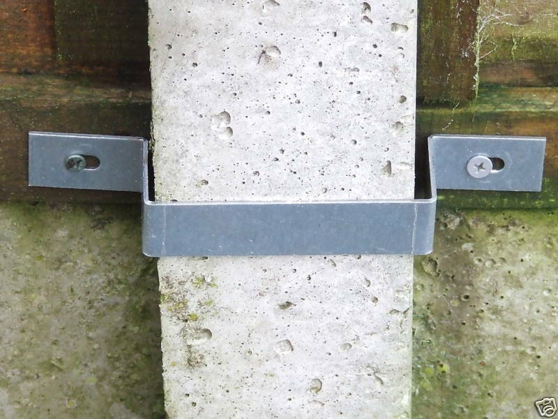 security fence band fencing panel concrete post safety ebay