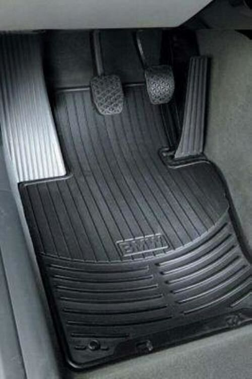 4 Bmw Oem X6 All Weather Rubber Floor Mats Black Ebay