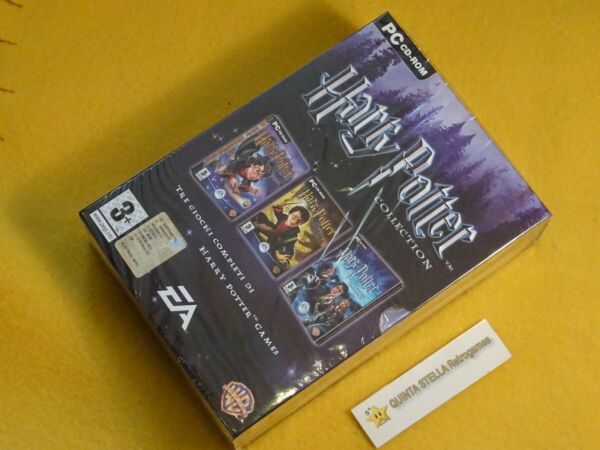 HARRY POTTER COLLECTION X PC LIMITED 3 GIOCHI VERSIONE ITALIANA NUOVO SIGILLATO