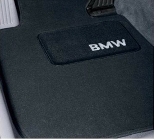 4 BMW OEM Anthracite Floor Mats E60 525 530 545 9861
