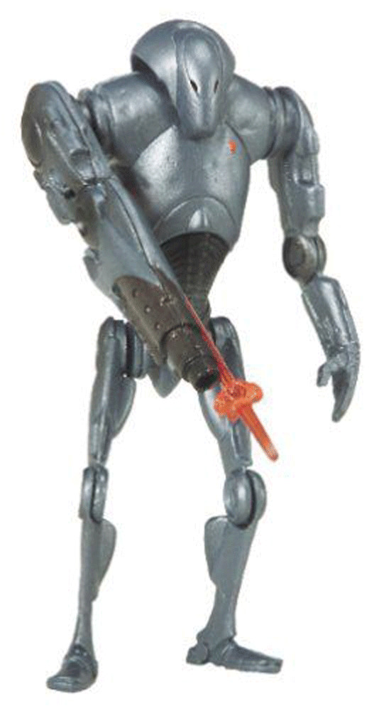 Star Wars Droids Toys : Star wars attack of the clones super battle droid action