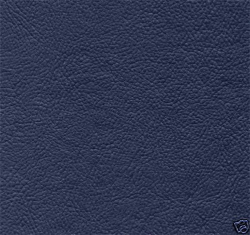Navy Blue Leather Vinyl Twin Size Futon Mattress Cover