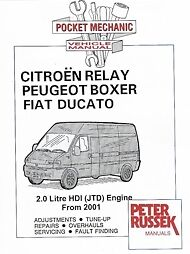 citroen relay peugeot boxer fiat ducato 2 0 hdi jtd ebay. Black Bedroom Furniture Sets. Home Design Ideas