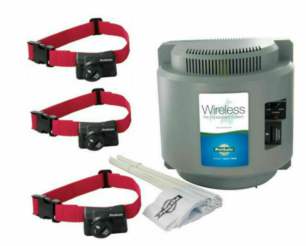 wireless dog fence petsafe pif 300 instant wireless 3 fence ebay 29113
