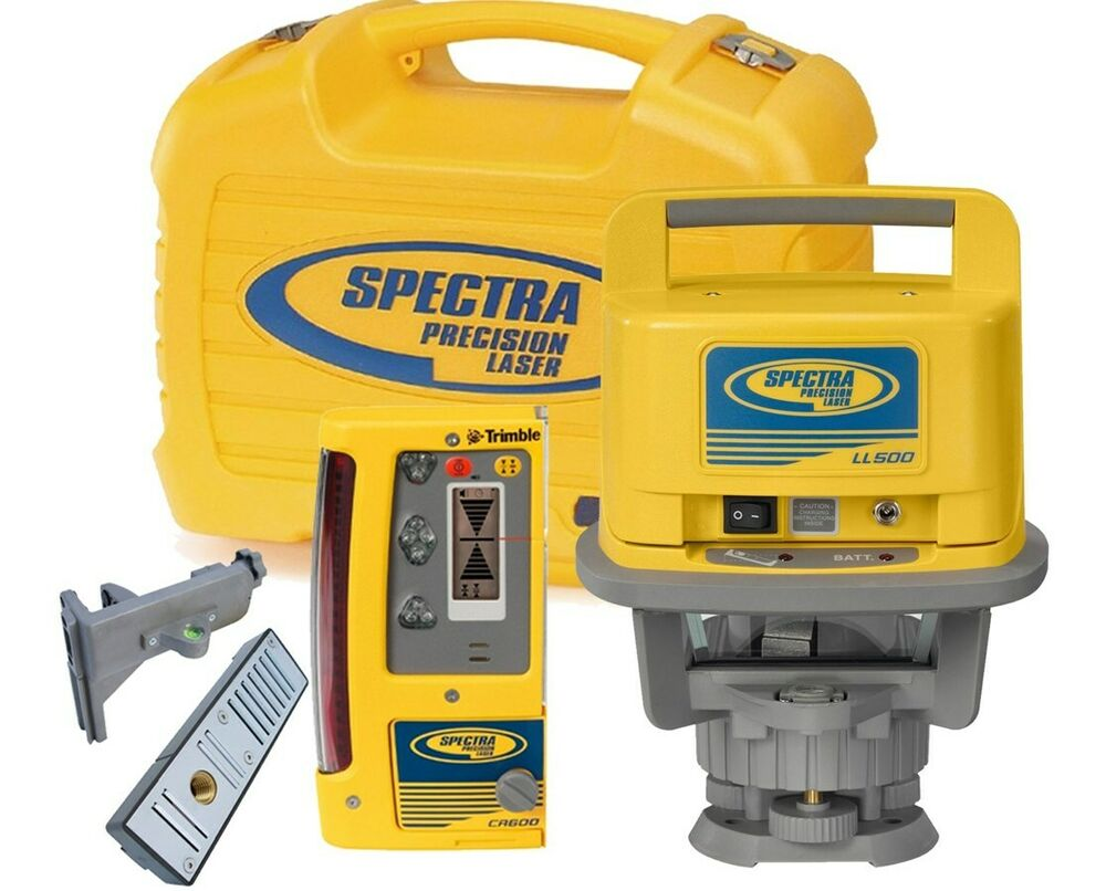 Spectra Ll500 Rotary Laser Level 1 600 Foot Range With