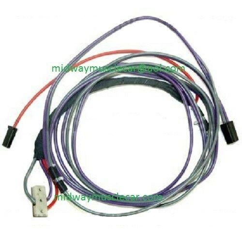 power convertible top wiring harness 69 Chevy Camaro z/28 ...
