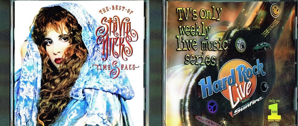 96a57f913bad5 Details about Timespace Best Of Stevie Nicks by Stevie Nicks   On The Road  With Hard Rock Live