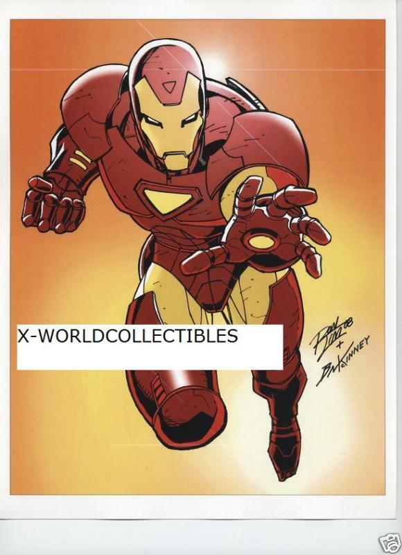 Iron man mini print by ron lim ebay - Mini iron man ...