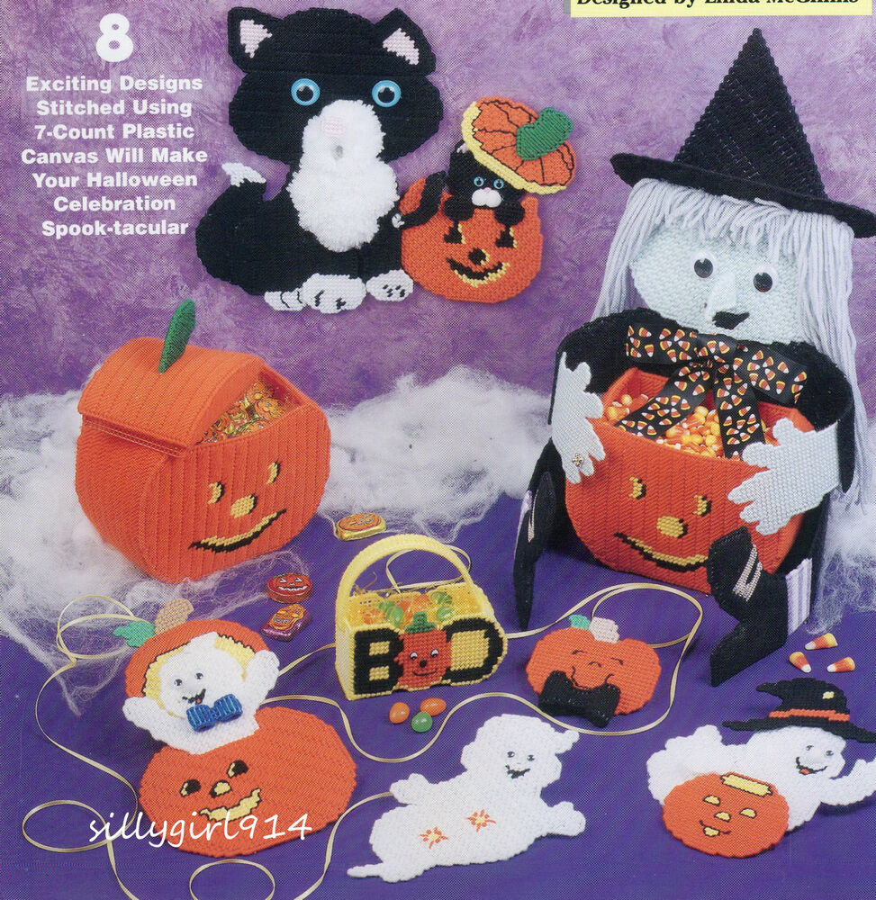 It's just an image of Lively Free Printable Halloween Plastic Canvas Patterns