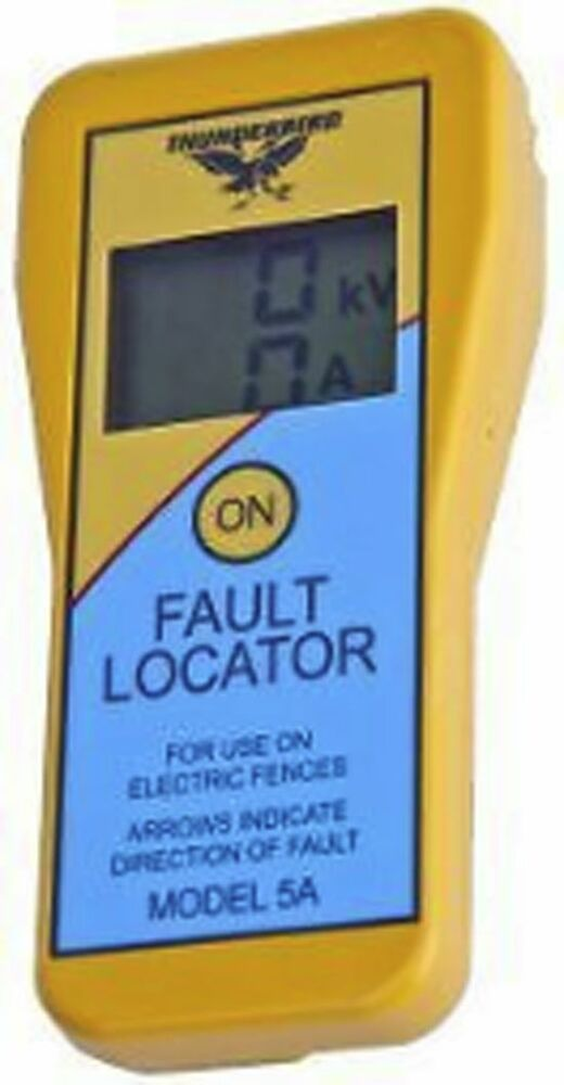 Electric Fault Locator : Electric fence fault locator finder thunderbird a tester