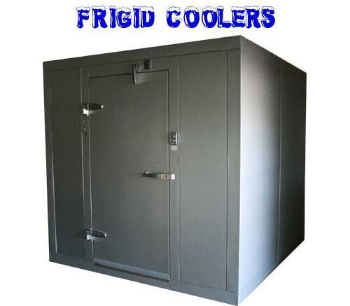 Walk In Freezer New 8 X 8 With Floor And Refrigeration Ebay