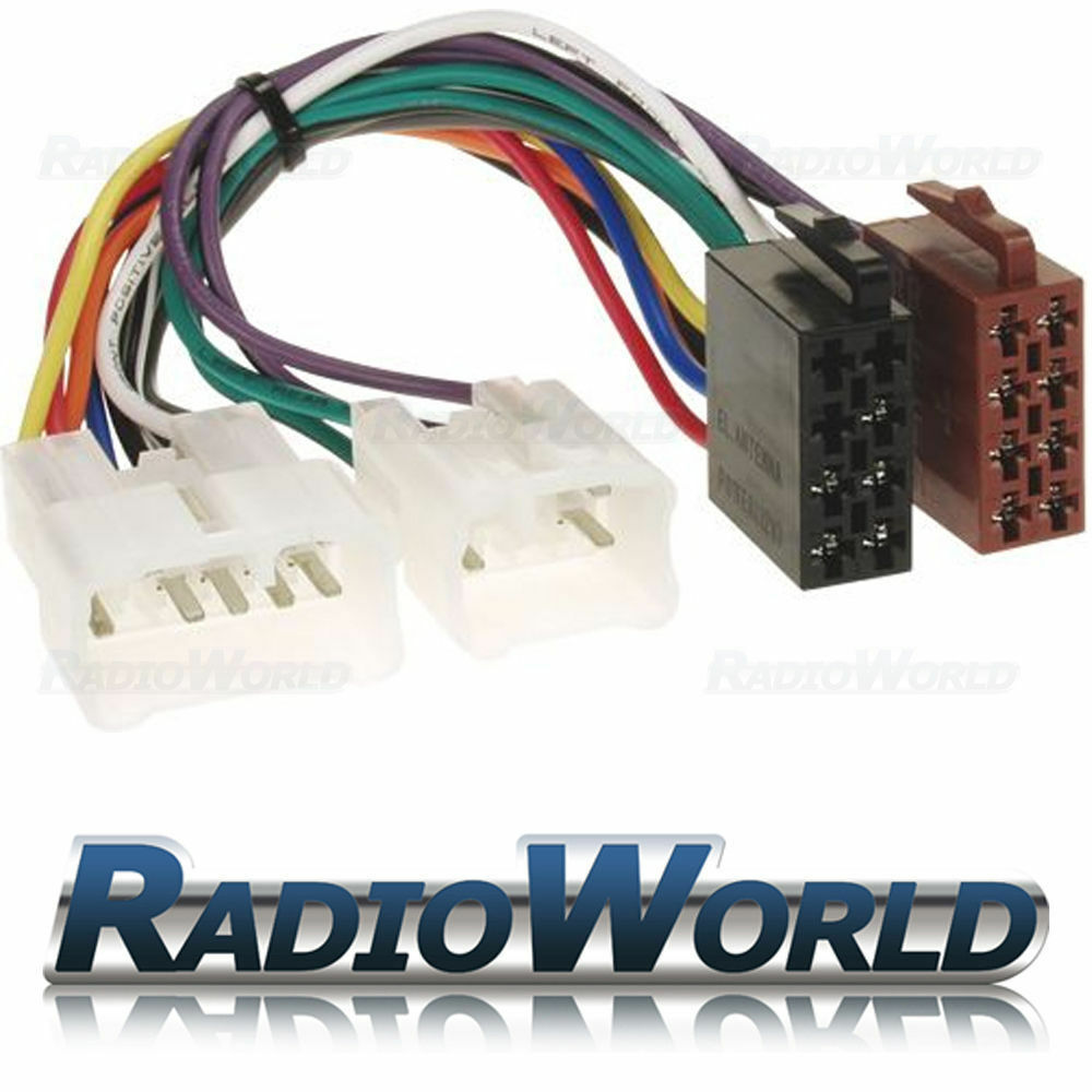 toyota car stereo radio iso wiring harness connector. Black Bedroom Furniture Sets. Home Design Ideas