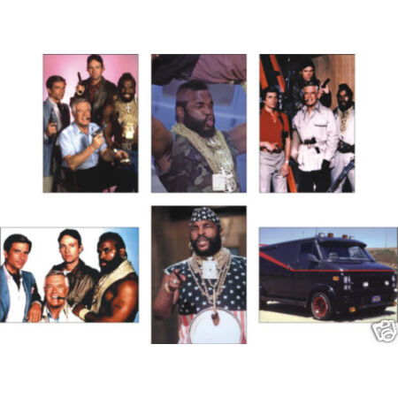img-The A Team Great New 6 Card POSTCARD Set Mr T