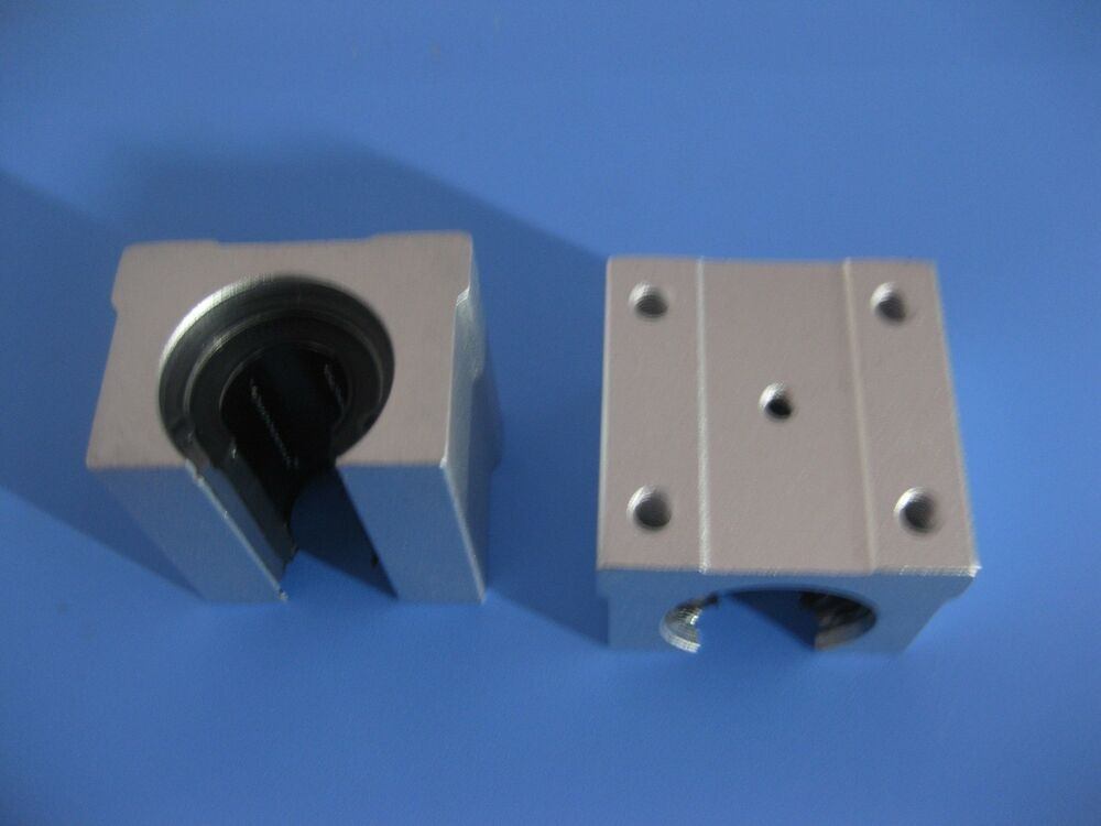4 Linear Bearing Pillow Blocks Sbr20uu With Lm20uu In Ebay