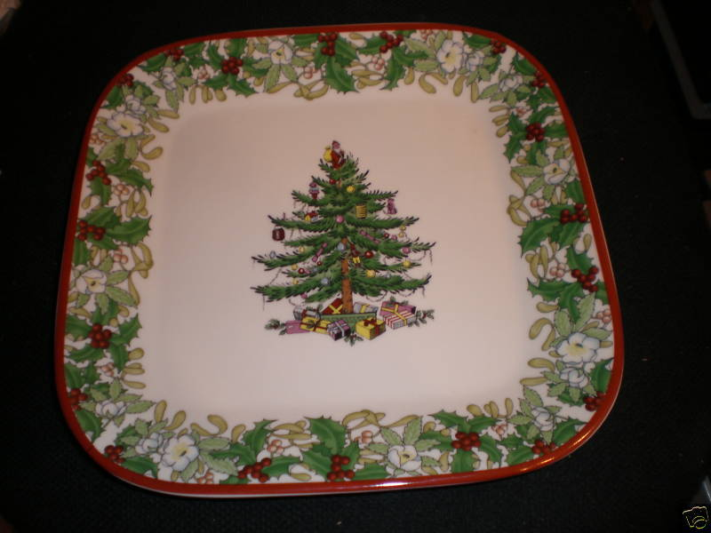 SPODE 2008 CHRISTMAS TREE ANNUAL PLATE 70TH ANNIVERSARY