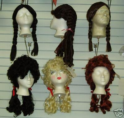 how to make wig pigtails curly