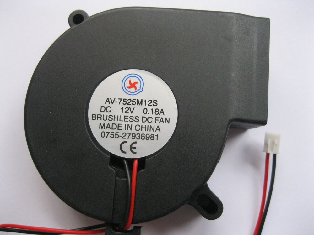 Dc Blower Fan : Pcs brushless dc cooling blower fan s v mm ebay