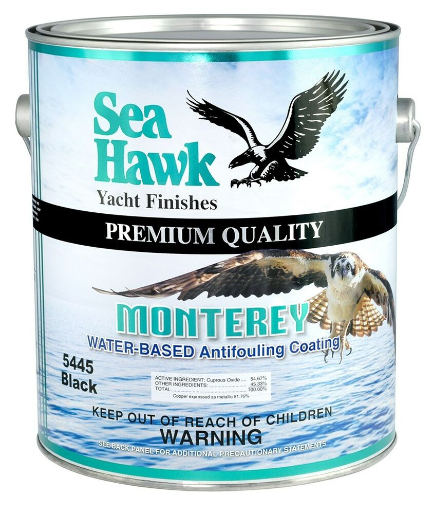 Sea hawk monterey bottom paint gallon ebay for Seahawk boat paint