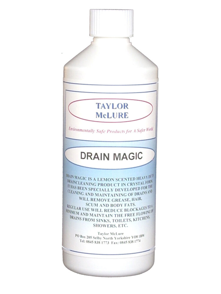 Heavy Duty Drain Cleaner For Clearing Blocked Drains Ebay