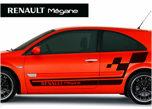 renault megane cup side stickers graphics decals ebay. Black Bedroom Furniture Sets. Home Design Ideas