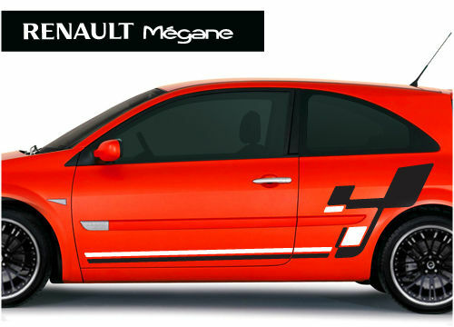 renault megane r26 style stickers graphics decals ebay. Black Bedroom Furniture Sets. Home Design Ideas