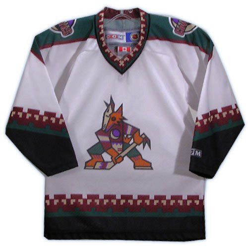 Details about Phoenix Coyotes CCM Toddler Hockey Jersey Msrp  39.99 be9371f2ff2
