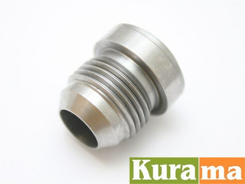 An fittings adapter solid steel weld bung nos car